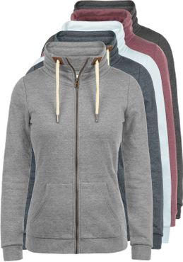 DESIRES Vicky Zipper Sweatjacke – Bild 1