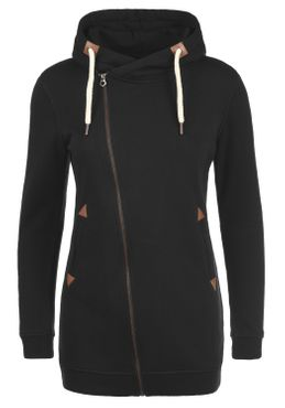 DESIRES Vicky Zip Hood Long Sweatjacke – Bild 2