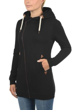 DESIRES Vicky Zip Hood Long Sweatjacke – Bild 3