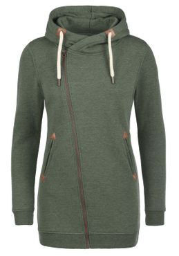 DESIRES Vicky Zip Hood Long Sweatjacke – Bild 6