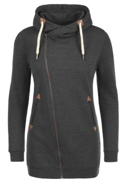 DESIRES Vicky Zip Hood Long Sweatjacke – Bild 10