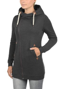 DESIRES Vicky Zip Hood Long Sweatjacke – Bild 11