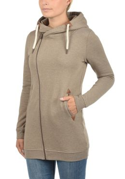 DESIRES Vicky Zip Hood Long Sweatjacke – Bild 15