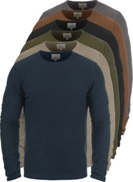 REDEFINED REBEL Mace O-Neck Strickpullover – Bild 1
