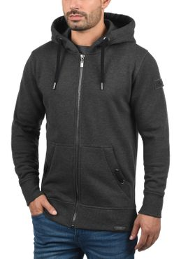 SOLID Trip Tape Zip Kapuzenjacke Sweatjacke Zipper – Bild 3
